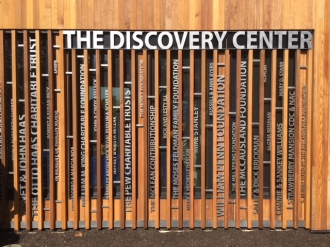 Discover Center Donor Wall